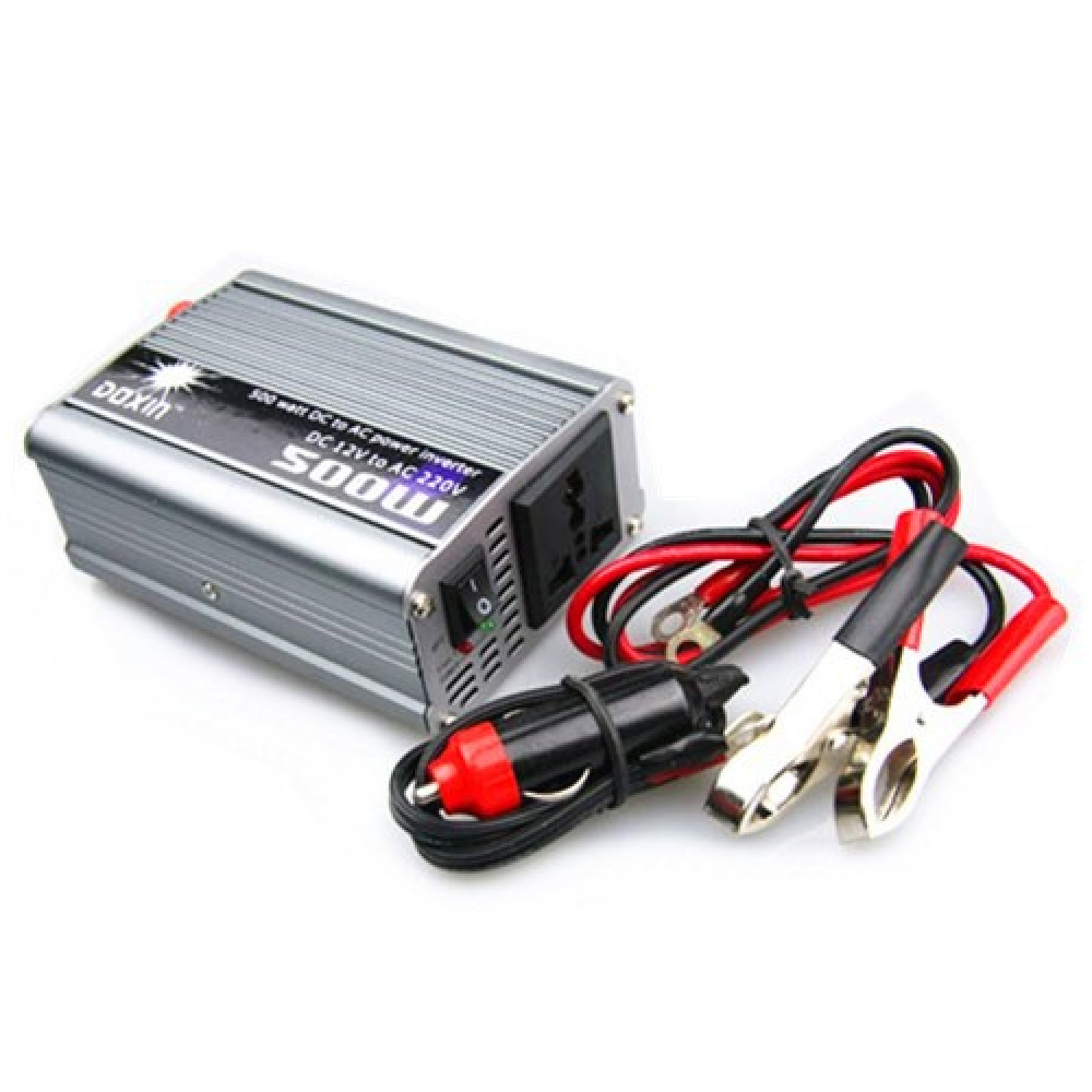 DOXIN 500w in Car 12v Power Inverter - With Usb Port