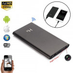 H8 Night Vision WiFi Power Bank Spy Hidden Pinhole Camera