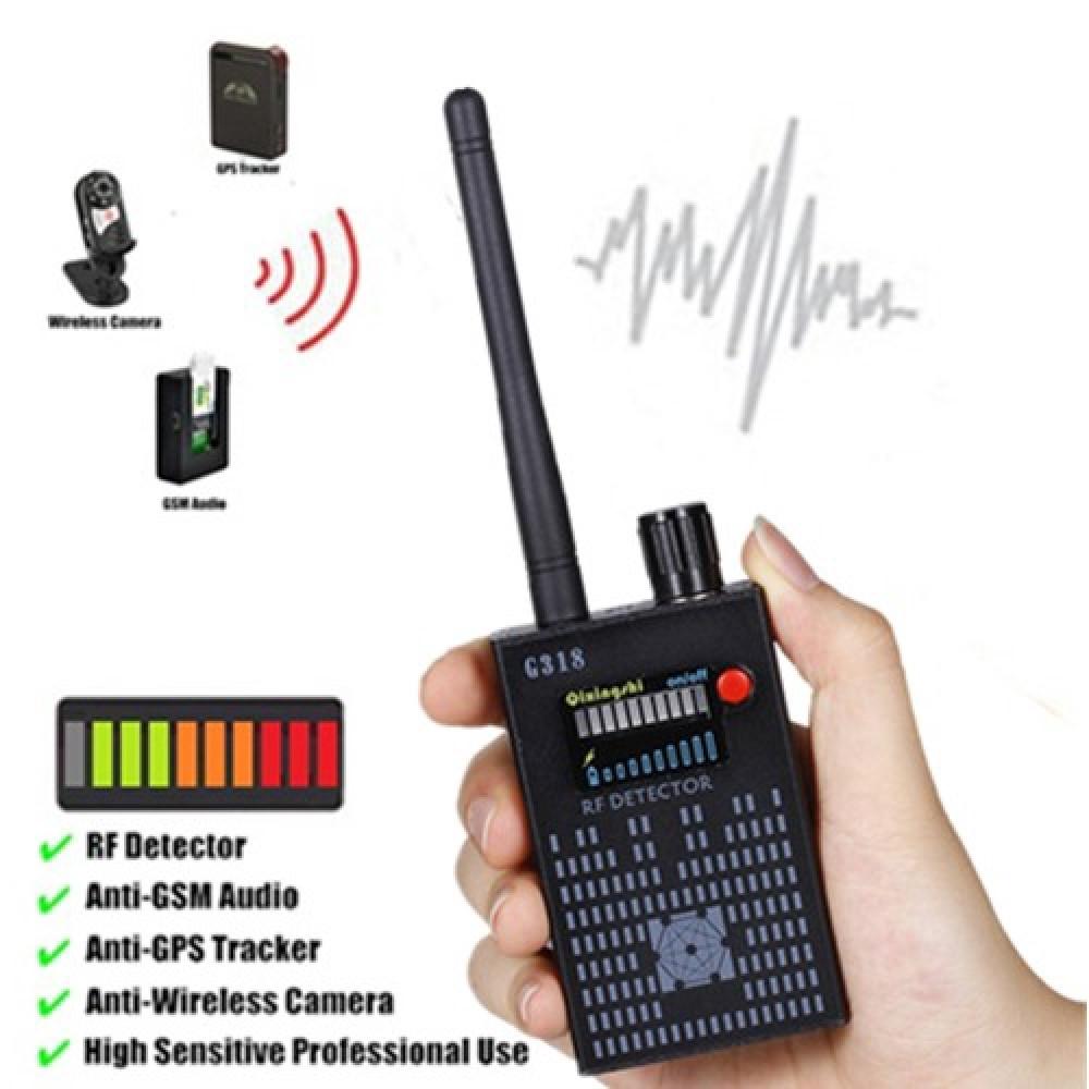 G318 GPS GSM Spy Bug Wireless RF Signal Detector