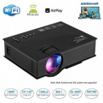 UNIC UC46 Home & Office WiFi LED Projector - 1200 Lumens