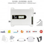 2G/GSM 3G/WCDMA 4G/LTE Band 1,3,7 Tri Band Mobile Signal Booster Repeater