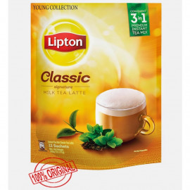 image of Lipton Classic Signature Milk Tea Latte252g (12 x 21g)/Lipton Matcha Green Tea 264g (12 x 22g)