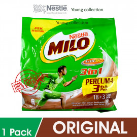 image of MILO 3IN1 18+3 STIK EXP APRIL 2020 BUY 4 SAVE MORE