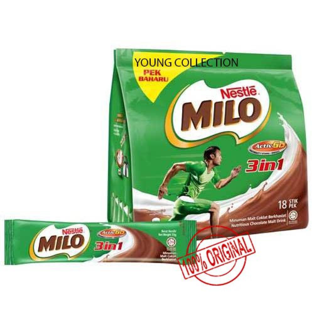 MILO 3 in 1(18sticks) buy 2 SAVE MORE EXP APRIL 2020