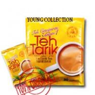 image of Salute Brand Cap 3 in 1 Milk Tea (Teh Tarik) 20 sachets x20gm Buy4 save more