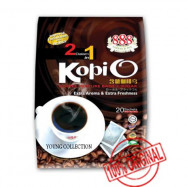 image of 888 2 In 1 Black Coffee / Kopi O Arabica With Sugar(25gX20 Sachets) EXPAUG2019