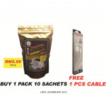 AI COFFEE 2 IN 1 KOPI 'O' 10&20SACHETS (HALAL & SUITABLE FOR VEGETARIAN)