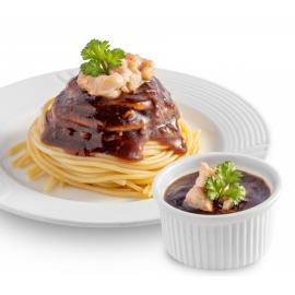 image of Lioco Food Garlic Black Paper Paste / Sauce 100gm ( Ready To Eat ) Halal