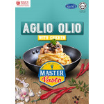 3 Minutes Instant Spaghetti - Master Pasto Aglio Olio With Chicken