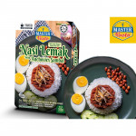 [HALAL - Master Pasto] 3-Minute Nasi Lemak with Anchovies Sambal (Convenience Pack - Marketplace Harian)