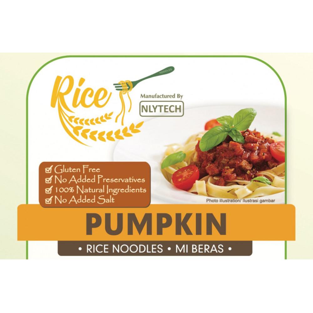 (Buy 3 Free 1!)[HALAL & VEGAN Friendly - NYLTECH] Pumpkin Rice Noodle (Gluten Free - Marketplace Harian)