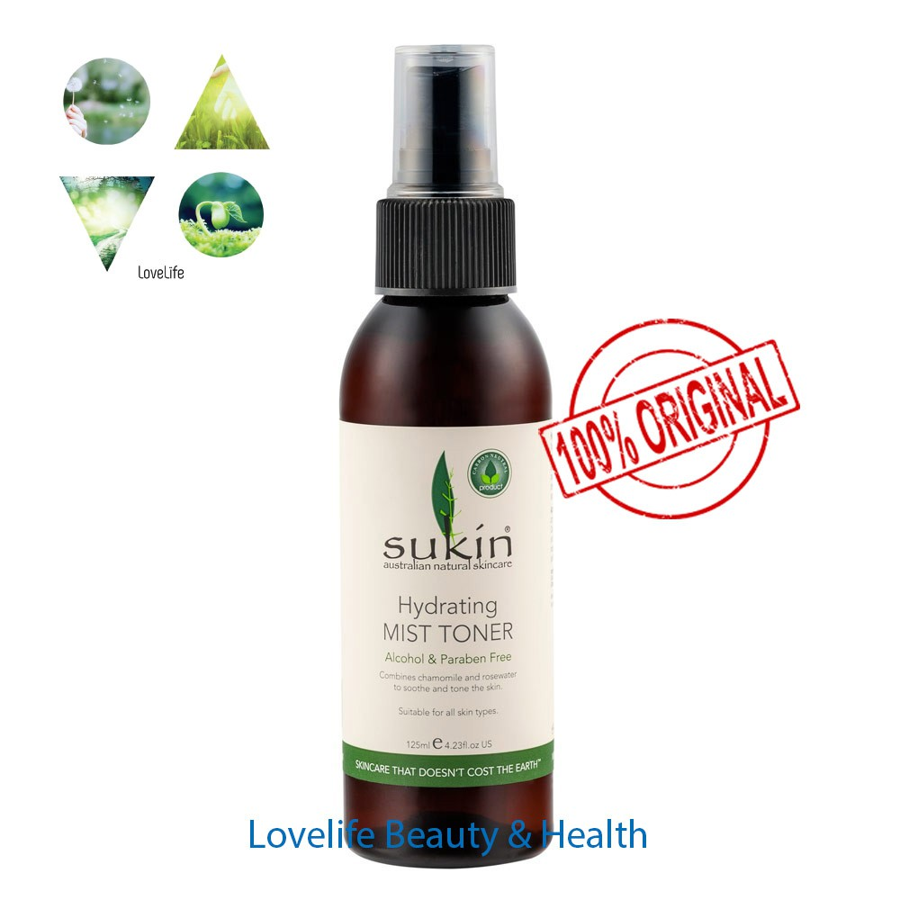 SUKIN Hydrating Mist Toner 125ML BUY 2 SAVE MORE