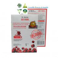 image of Dr.Morita Narcissus Whitening Essence Facial Mask(5pcs from Taiwan)