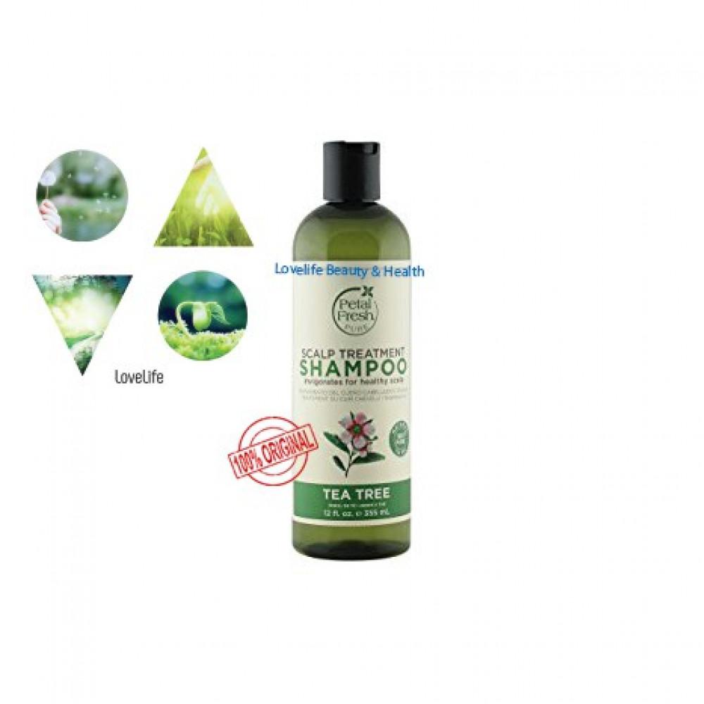 Petal Fresh Scalp Treatment Shampoo: Tea Tree 355ml EXP 03/2021