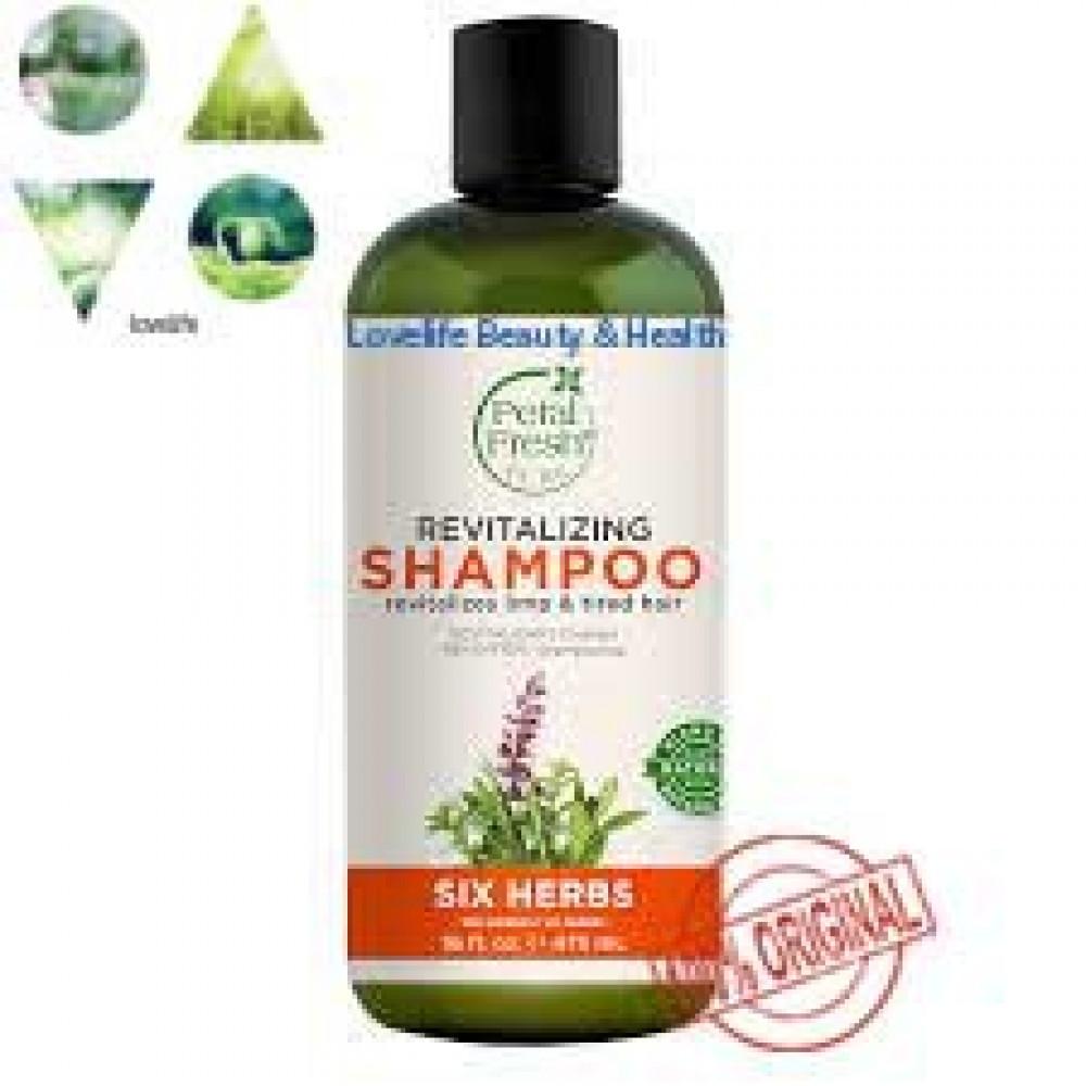 PETAL FRESH Six Herb Shampoo (Revitalizing) EXP AUG 2021