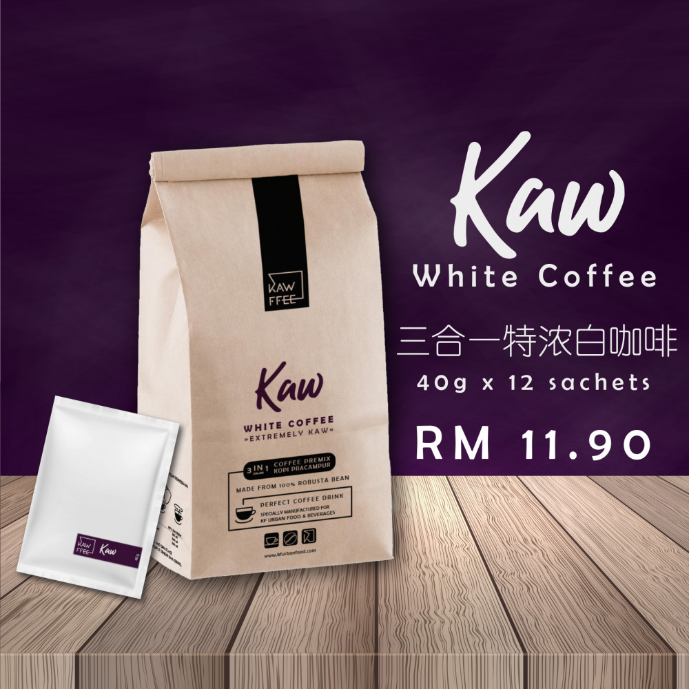 3 in 1 White Coffee Kaw