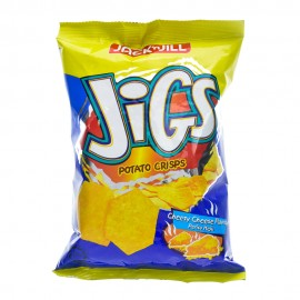 image of Jigs Potatoes Crisp 70g (Cheesy Cheese)
