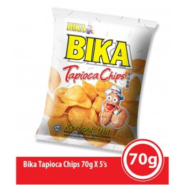 image of Bika Cracker 70g (Tapioka Chip)