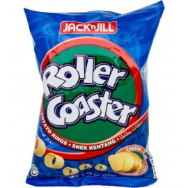 image of Roller Coaster Potato Rings 30 x 18g (Cheese)