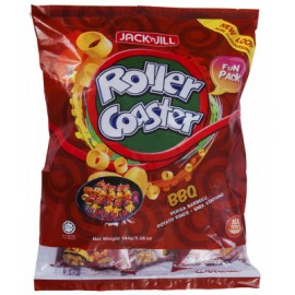 image of Roller Coaster Potato Rings 30 x 18g (BBQ)