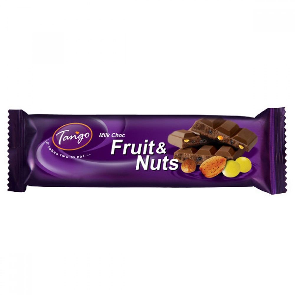 TANGO 40G (FRUIT & NUTS) (MAXCRUNCH) (ALMOND)