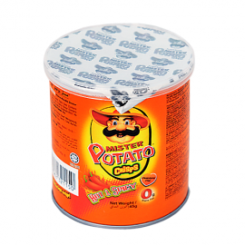 image of Mister Potato Crisps Hot & Spicy 45g