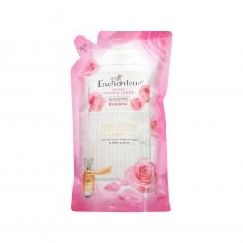 image of Enchanteur Shower Cream Refill Pack 600ml (Romantic)