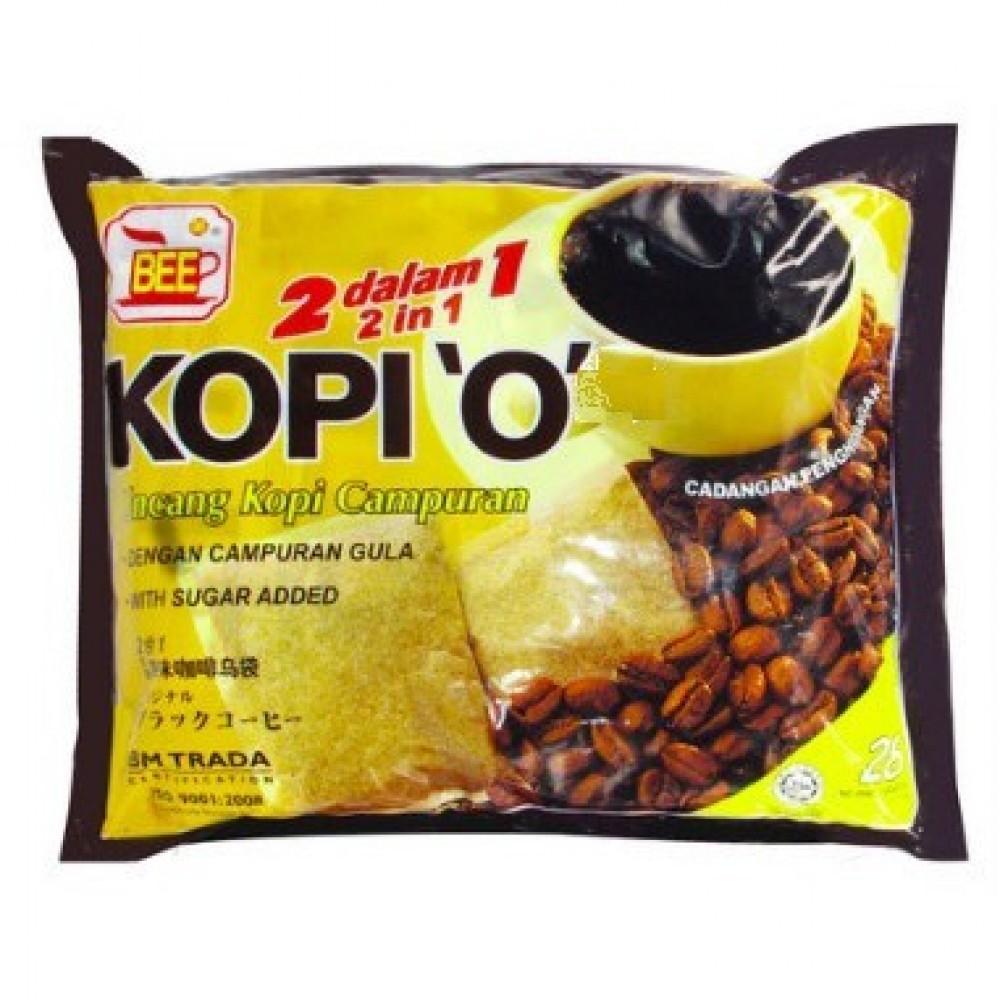 BEE Coffee 'O' 2-in-1 No Sugar (10g x 20 Packs)