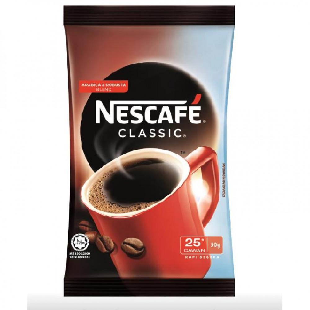 Nescafé Classic Coffee Refill Pack 50g