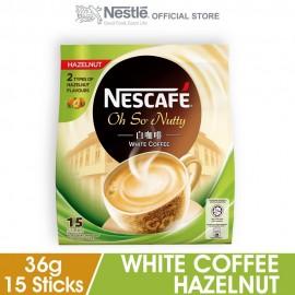 image of Nescafé White Coffee Hazelnut (15's x 36g)