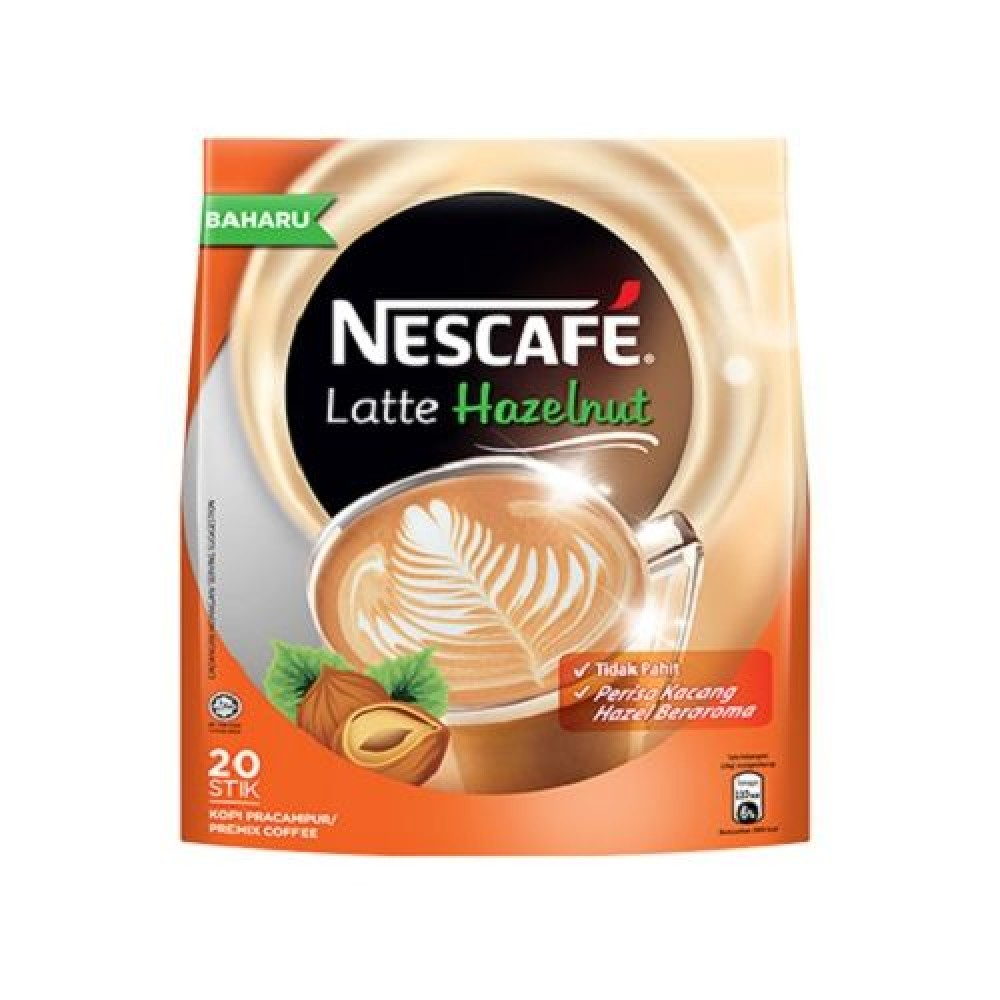 Nescafé Latte Hazelnut (20's x 24g)