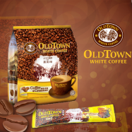 image of OLD TOWN 2 In 1 Coffee and Creamer White Coffee Mix (15's x 25g)