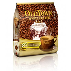 image of OLD TOWN 3 in 1 Natural Cane Sugar White Coffee (15's x 36g)