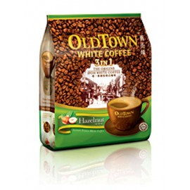 image of OLD TOWN White Coffee 3 In 1 Hazelnut White Coffee (15's x 40g)