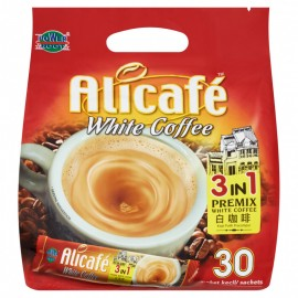 image of Power Root Alicafé 3 in 1 Premix White Coffee (30 x 20g)