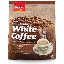 image of Super 3 in 1 Classic Charcoal Roasted White Coffee (15's x 40g)