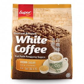 image of Super 3 in 1 Brown Sugar Charcoal Roasted White Coffee (15's x 40g)