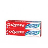 image of Colgate toothpaste TRIPLE ACTION 2x200G