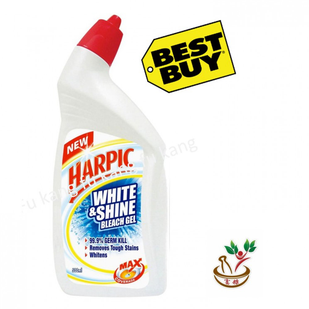 Harpic White and Shine Bleach 500ml