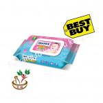 Diapex Soft Baby Wipes with Vitamin E & Aloe Vera 80sheets