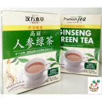 premier tea ginseng green tea 高丽人参绿茶 20s x 2g