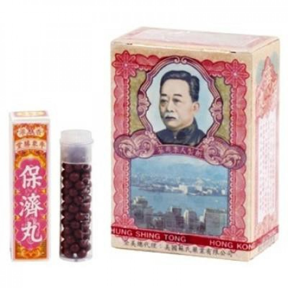 PO CHAI PILLS BOTTLE 保濟丸 ( 10 Bottles )