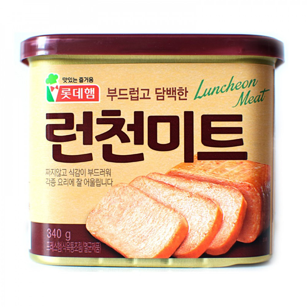 lotte luncheon meat 340g