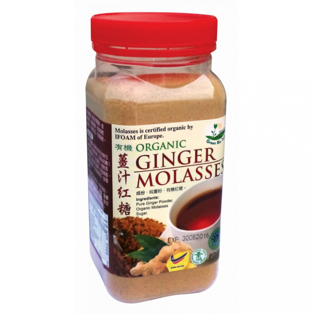 GBT ORGANIC GINGER MOLASSES 有机姜汁红糖 400gm