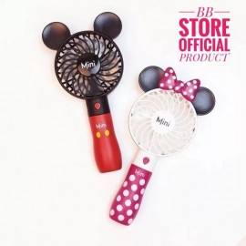 image of MINI DISNEY HANDY FAN RECHARGER WITH MICRO USB CABLE