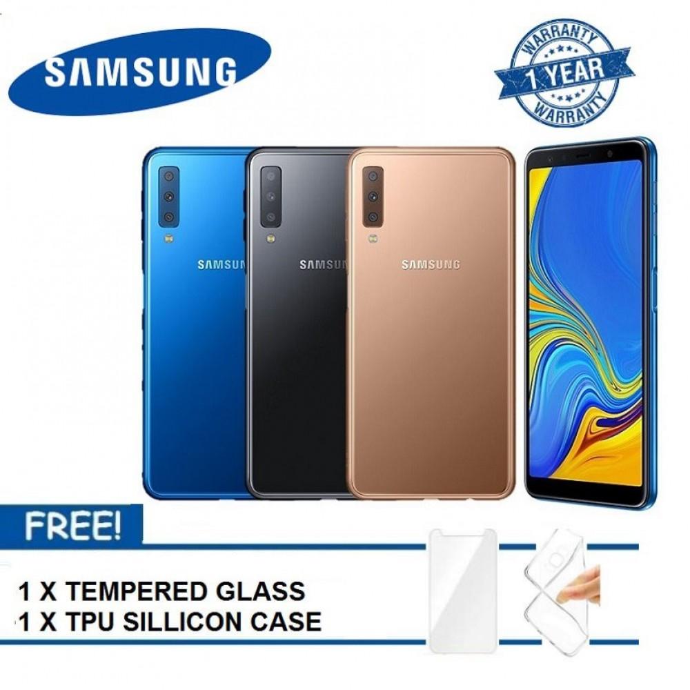 (READY STOCK 2018) Samsung Galaxy A7 128GB 1 YEAR WARRANTY BY SAMSUNG MALAYSIA