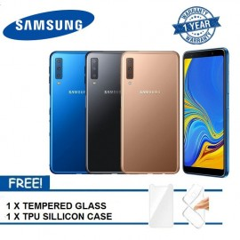 image of (READY STOCK 2018) Samsung Galaxy A7 128GB 1 YEAR WARRANTY BY SAMSUNG MALAYSIA