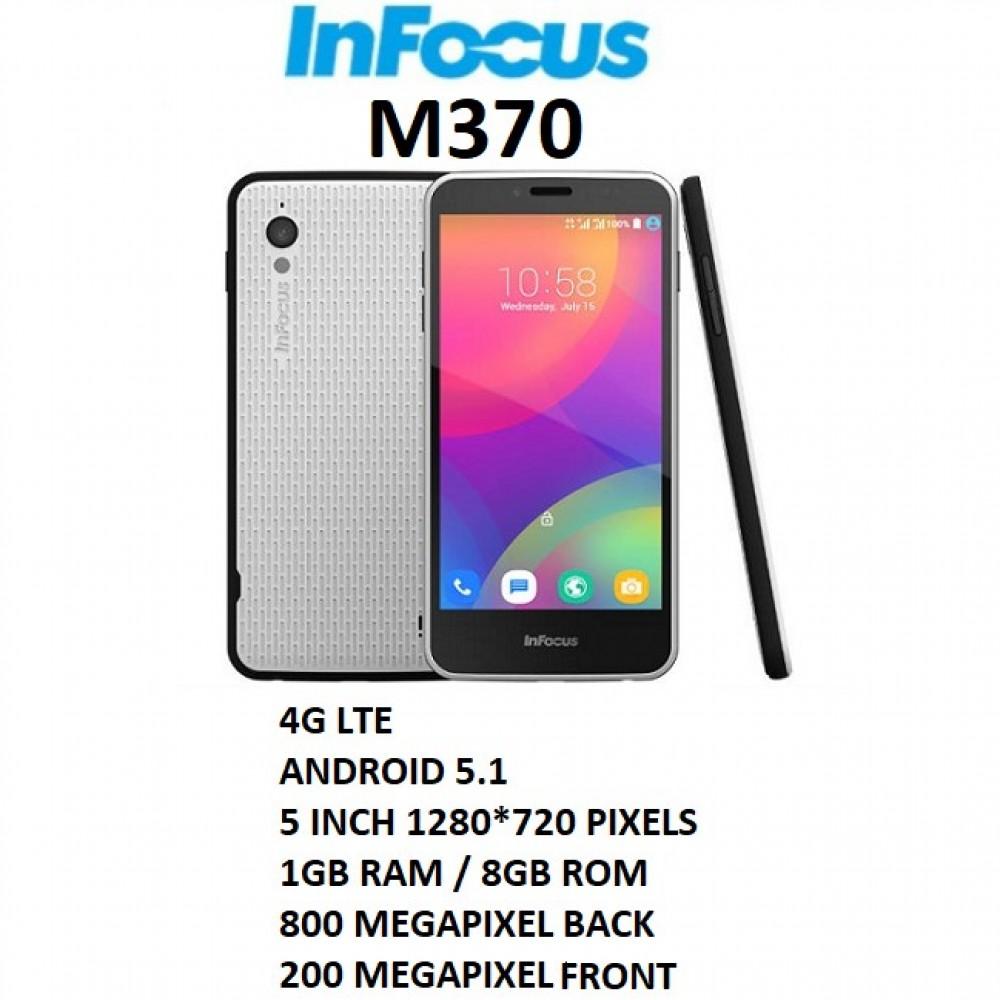 InFocus M370 4G LTE Android Dual Sims 1GB RAM/8GB ROM
