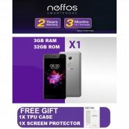 image of Neffos X1 32GB/3GB Fast Fingerprint Sensor, 2 Years Warranty By Neffos Malaysia