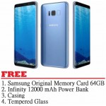 Samsung Galaxy S8 Plus 64GB (Blue) - Malaysia Set